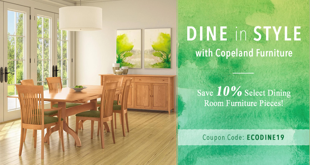 Save 10% Select Dining Room Furniture Pieces!