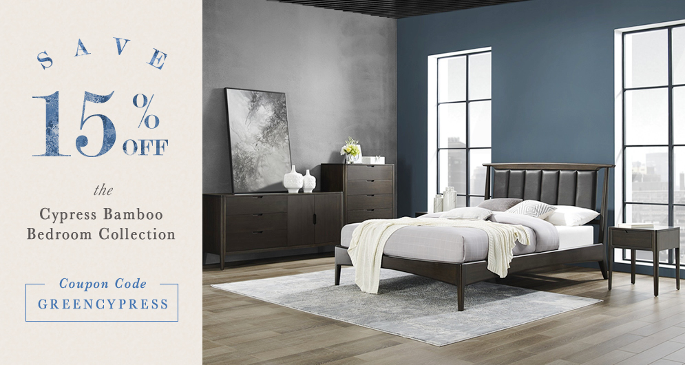 15% off Cypress Bedroom collection